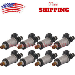 Set Of 8 Fuel Injectors For Mercury Outboard 150 Thru 300hp 1998-2005 18715t1 Us
