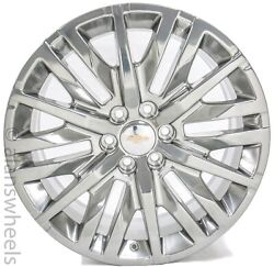 4 New Chevy Avalanche Suburban 22andrdquo Polished Gm Factory Oem Wheels Rims 5921