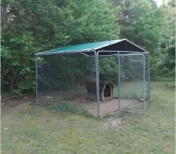 Dewitt Polytuf Kennel Cover And Roof Kit - Made For A 10'x10' Kennel