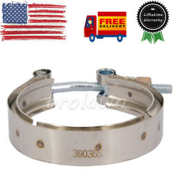 3903652 For 89-02 Dodge Ram 2500 3500 5.9l 6bt Exhaust Turbo Outlet V-band Clamp