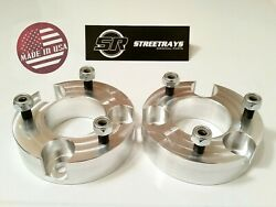 [sr] 2 Front Leveling Spacer Lift Kit For 2005-2020 Nissan Frontier 4wd And 2wd