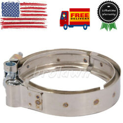 New Exhaust Outlet Clamp 3903652 Fits 89-02 Dodge Ram 2500 3500 5.9l 6bt Engine