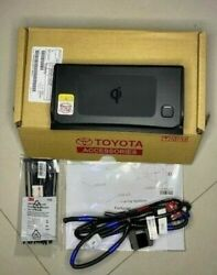Genuine 2020-2021 Toyota Fortuner Wireless Phone Charger Set Qi Oem Accessories
