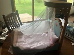 American Girl Doll Marie Grace Cecile Half Canopy Bed