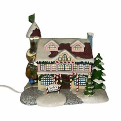 Hawthorne Village Rudolph's Christmas Town Santa's Toy Workshop Tested D4635