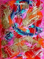 Painting Street Art Modern Abstract Contemporaryaventure Y Est 60x80🦋🦋