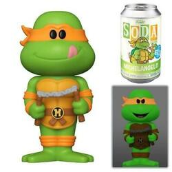 Tmnt Michelangelo Funko Soda Limited Edition Chance Of Chase Factory Sealed