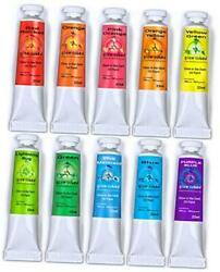 Glow In The Dark Artist Professional Oil Paint Luminescent Sets Glow Set Of 10