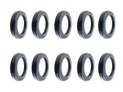 Premium Wheel Seal For Steer Axle Replace Stemco 383-0236, Skf 35058 Pack Of 10