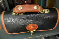 Dooney amp; Bourke Small LEATHER Barrel Bag Off Black Excellent Condition $33.00