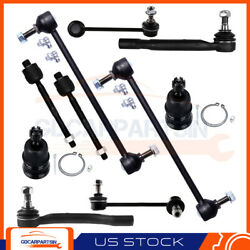 Fits For 2003-2005 Honda Pilot Front Sway Bar End Links Lower Ball Joints 10pcs