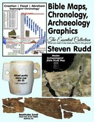 Bible Maps, Chronology, Archaeology Graphics The Essential Collection By Rudd