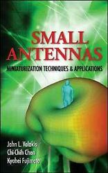 Small Antennas Miniaturization Techniques And Applications, Hardcover By Vola...