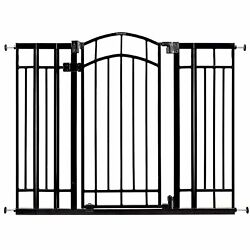 Summer Multi-use Decorative Extra Tall Walk-thru Baby Gate, Fits Openings