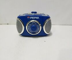 Pepsi-cola Fm Radio 1990's Advertising Battery Operated Working Manual Switches