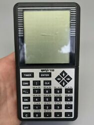 Vgt Sportyandrsquos E6b Electronic Flight Computer - Missing Battery Cover - Good Cond.