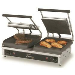 Star - Gx20ig - Grill Expressandtrade 20 In Grooved Sandwich Grill
