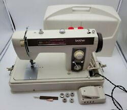 Heavy Duty Vintage Brother Model 2010 Sewing Machine - Mint Condition