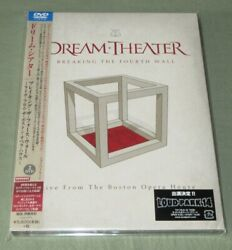Unopened Dream Theater Japan Promo 2 X Dvd Breaking The Forth Wall Free Ship