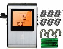 Wireless Meat Thermometer, Smart Bluetooth Digital Cooking, Bbq Grill Smoker 6