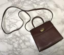 Made By Italy Game Coach Madison 2way Bag Brown F/s Fedex