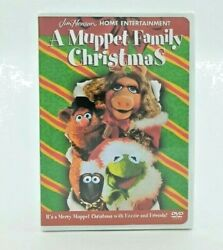 A Muppet Family Christmas RARE DVD 2001 NEW amp; FACTORY SEALED