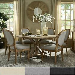 Deana Round Dining Set With Round Back Chairs By Inspire Q