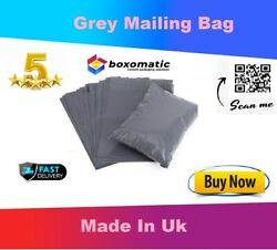 Grey Postal Mailing Bags Mixed Plastic Postage Poly Mailer Parcel Shipping Bags