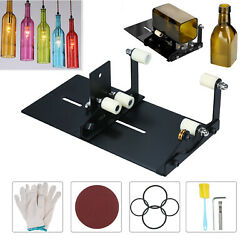 Diy Recycle Glass Bottle Cutter Tool Wine Beer Sculptures Glass Cutting Kit A7n7