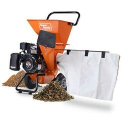 Wood Chipper Shredder 3-in-1 Capable 3 Max Capacity 7hp Gas Wood Chipper