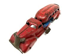 Marx Pressed Steel Tractor Trailer 1930s Wind-up