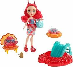 Enchantimals Beach Playset With Cameo Crab Doll 6in, 2 Animal Friend Figures