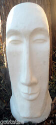 Easter Island Tiki Mold Plaster Concrete Casting Mould 16.5h X 8w X 4