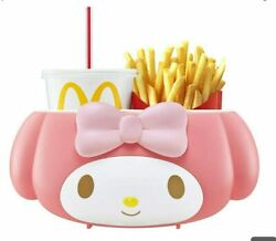 My Melody Mcdonald's Drink And Potato Holder Sanrio Holder For Car Limited Japan