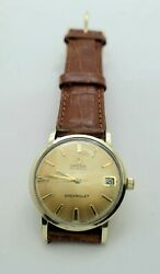 Vintage Omega Seamaster 563 Automatic 10kgf Chevrolet Retirement Watch
