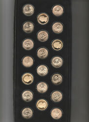 Complete 2007 Presidential Dollar Set - P And D Unc, Satin And S-proof 20 Coins