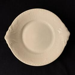 Royal Copenhagen White Fluted Half Lace Oval Plate Dish Denmark 422 1st Quality