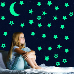 Sovob Glow In The Dark Stars StickersGlowing Stars For Ceiling And Wall3D Wall