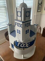 Vintage Fox Theater, Unique Hand Made Wooden 31 X 20 X 20 Inch Prop For Tv Show