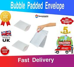 Poly Bubble Mailer Shipping Padded Bag Envelopes White