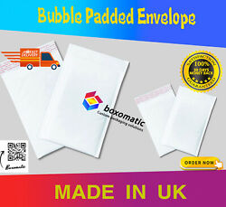 White Bubble Padded Envelopes Mailers Shipping Bag
