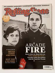 Arcade Fire / Jarvis Cocker German Rolling Stone Magazine March 2007