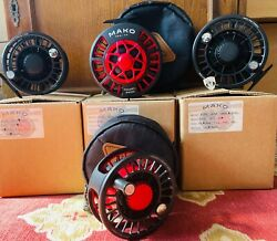 Mako Reel Co Salmon And Saltwater Premier Fly Fishing Reels All Sizes And Colours