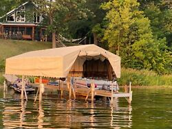 Beach King 29andrsquo Boat Lift Canopy Only