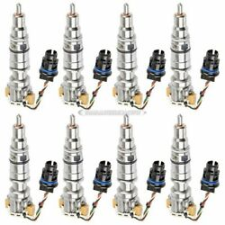For Ford Excursion F250 6.0l Powerstroke Complete Diesel Fuel Injector Set Dac
