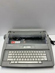 Vintage Brother Sx-4000 Electronic Electric Typewriter Needs A New Ink Ribbon