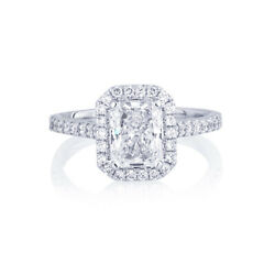 Gorgeous 1.20 Ct Lab Grown Diamond Engagement Ring 14k White Gold Size Selective