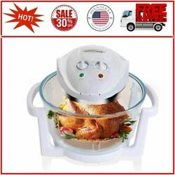Air Fryer, Countertop Toaster Oven, Convection Oven With Glass Bowl, Easy To Cle