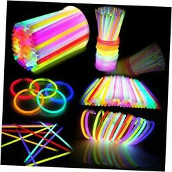 800 Pcs Glow Sticks Bulk Colorful Neon For Glowstick Party Favors Glow In