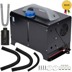Air Parking Heater 12v 5kw W/lcd Monitor + Remote Controller For Forklift Yacht